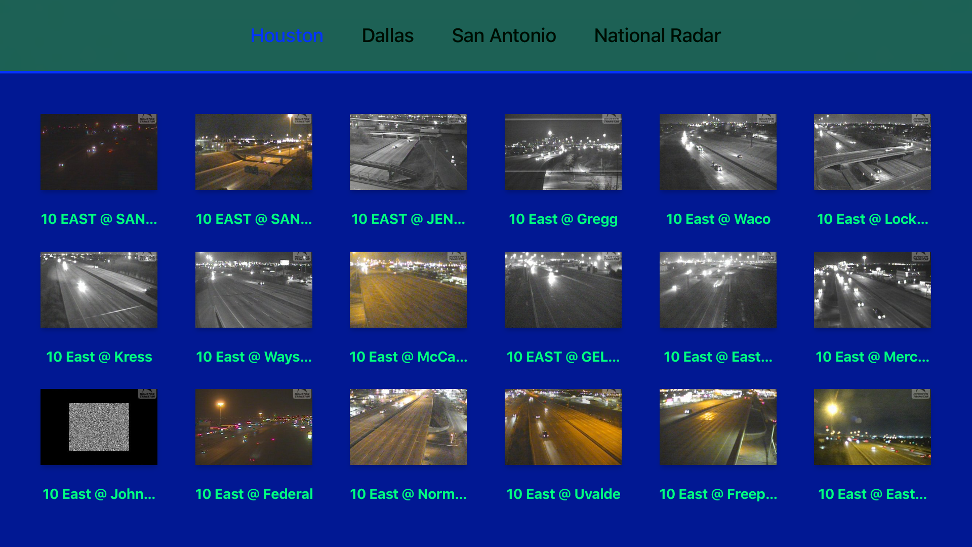 Texas NOAA Radar with Traffic Cameras 3D screenshot 11