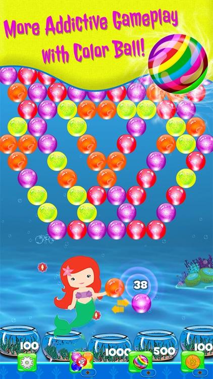 Bubble shooter Sea Animals screenshot-3