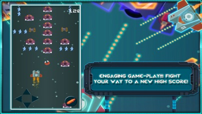 Space Attack Shoot the enemy to Defend your Ship screenshot three
