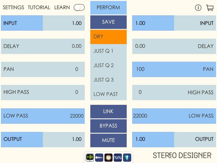 Stereo Designer - Stereo Shaping Processor