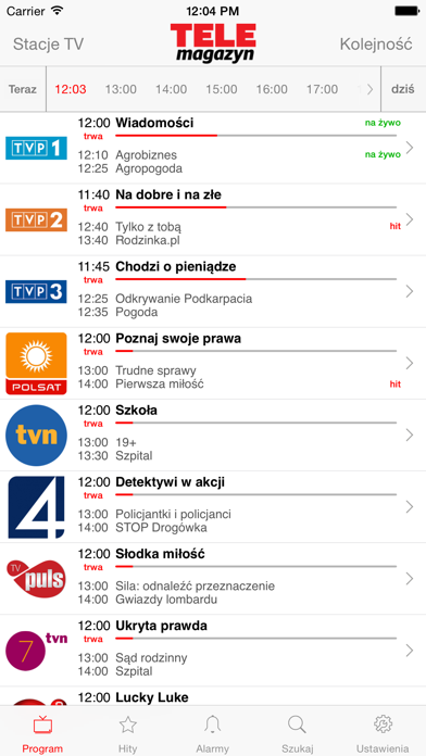 Program TV Telemagazyn screenshot one