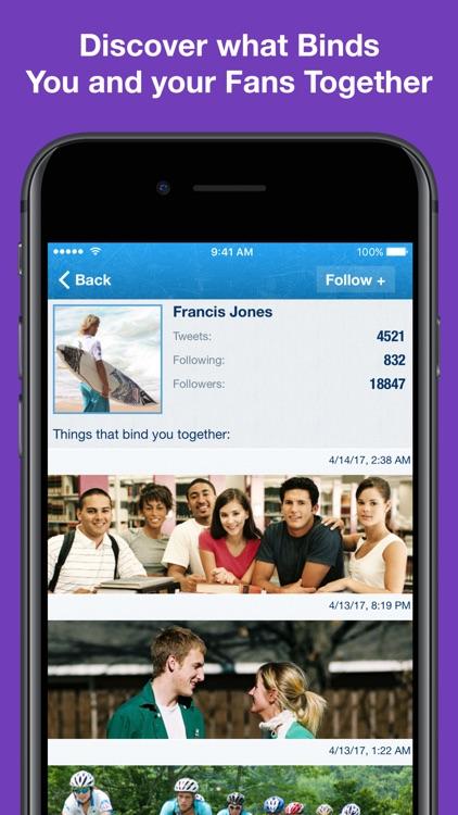 MyTopFans Pro for Twitter - Track followers screenshot-3
