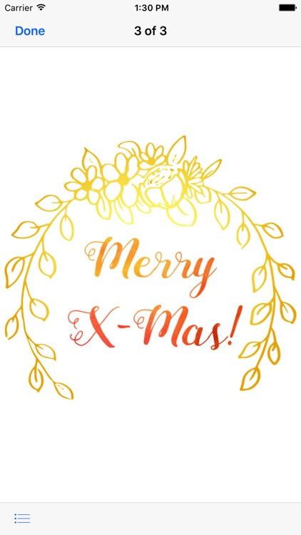 Christmas Wishes - Watercolor Messages screenshot-3