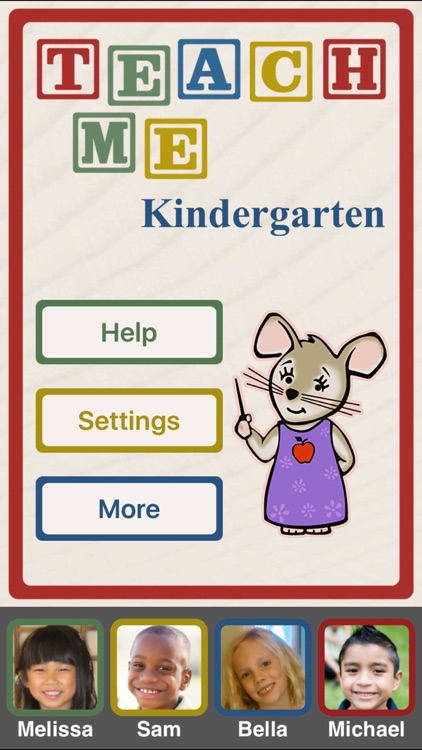 TeachMe: Kindergarten screenshot-0