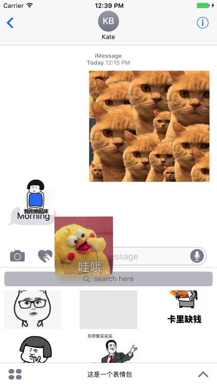 这是一个表情包 - 网络热门表情包 screenshot-3