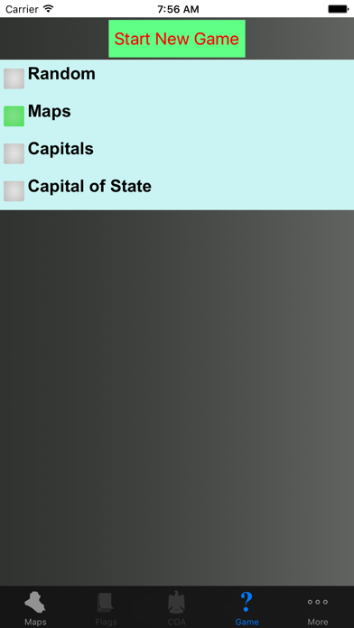 Iraq State Maps and Capitals screenshot four
