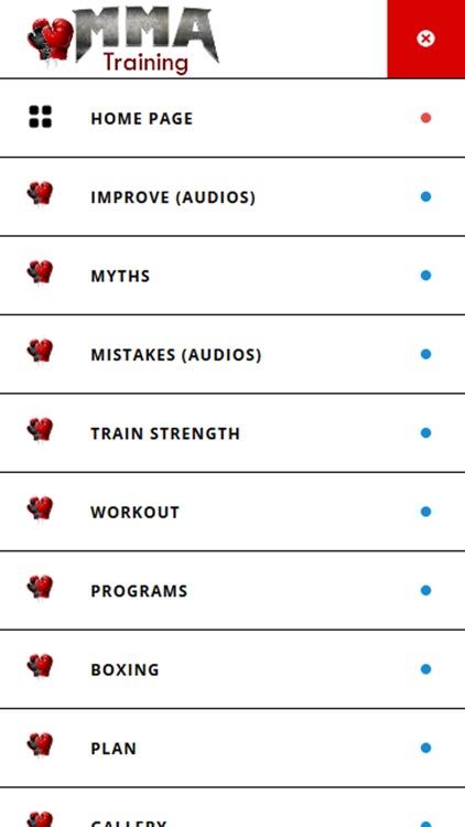 MMA Training and Fitness screenshot-3