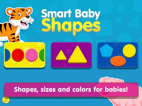 Shapes! Toddler Kids Games,Baby Boys Learning Free screenshot 1