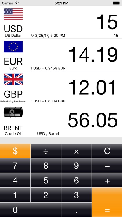 Currency+  Money converter screenshot-0