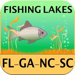 Florida, Georgia, NC, SC – Fishing Lakes