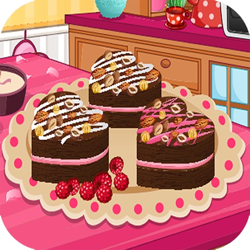 Hearts with Cream free Cooking games for girls