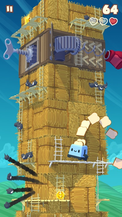 Twisty Sky - Endless Tower Climber screenshot-3