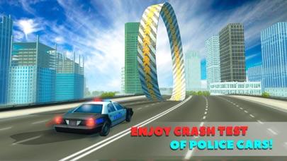 Extreme Police Car Crash Test Simulator