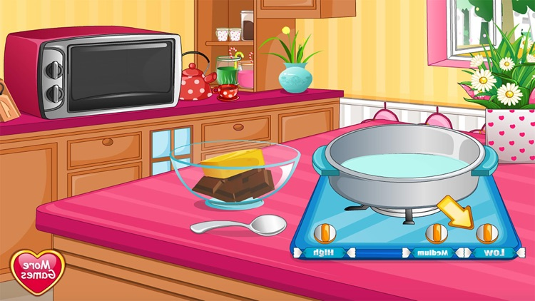Hearts with Cream free Cooking games for girls screenshot-3