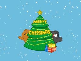 NICKI Christmas − NHH Stickers