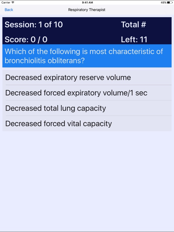 Respiratory Therapist Certification Review | App Price Drops