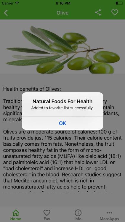 Natural Foods For Health screenshot-3