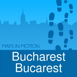 Bucarest on foot : Offline Map