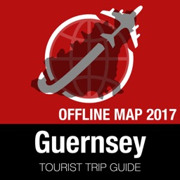 Guernsey Tourist Guide + Offline Map