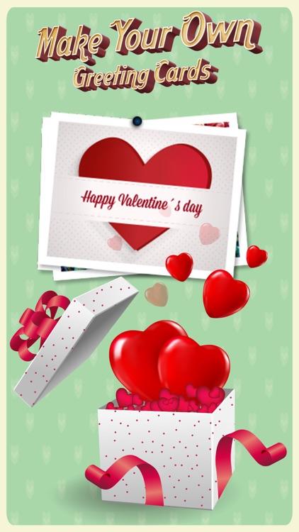 Card Maker - Make Valentine's Day, Birthday cards