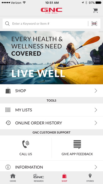 GNC LiveWell screenshot-2