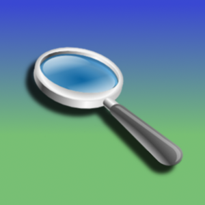 Magnifying Glass app