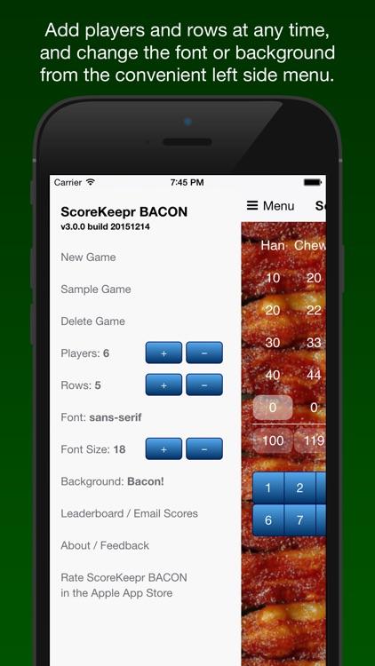 Score Keeper BACON
