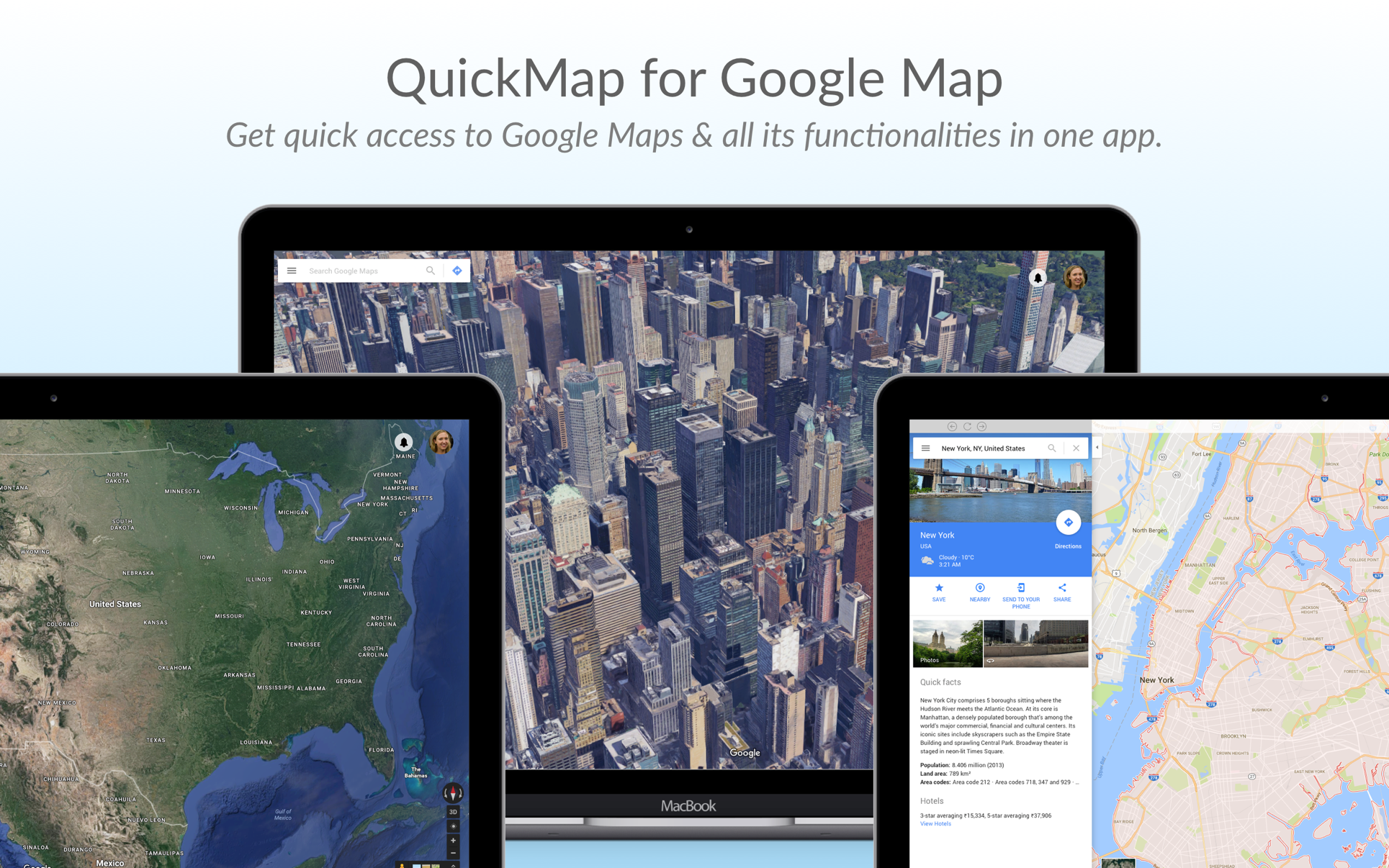 Quickmap for google map on the mac app store quickmap for google map on the mac app store ccuart Images
