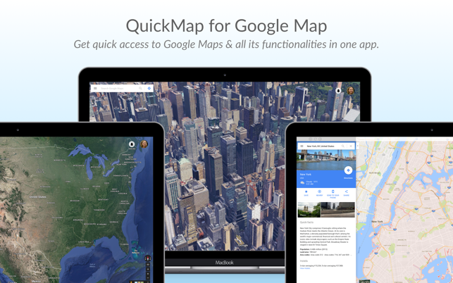 QuickMap for Google Map