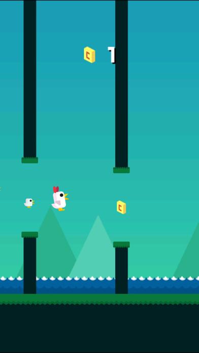 Flappy Chicken Goのおすすめ画像1