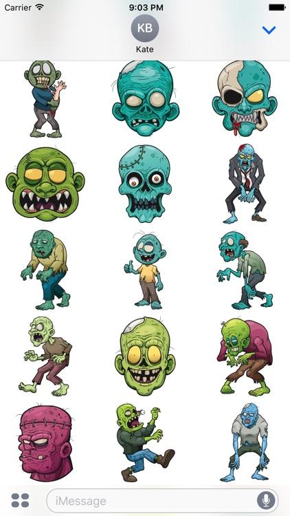 Zombistickers