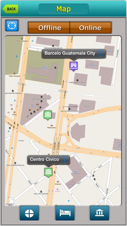 Guatemala Offline Map City Guide screenshot-1