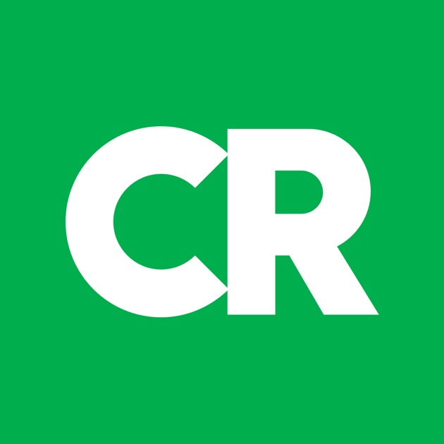 Ratings by Consumer Reports on the App Store