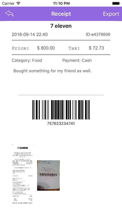 Receipt - Lite screenshot-3