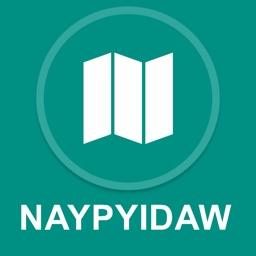 Naypyidaw, Burma : Offline GPS Navigation