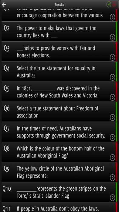 Australian Citizenship Practice Test 2017 screenshot 4