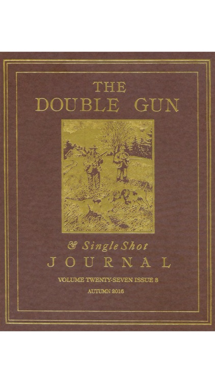 Double Gun and Single Shot Journal