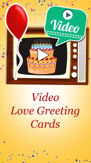 Happy birthday videos animated video greetings on the app store screenshots m4hsunfo