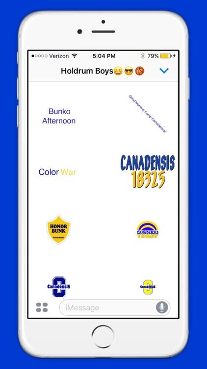 Camp Canadensis Sticker Pack