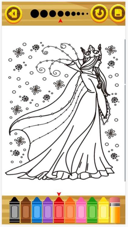 Princess Coloring Book For Kid screenshot-3