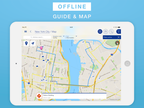 Map New York Offline.New York City Travel Guide Offline Map App Price Drops