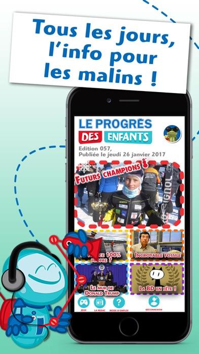 Screenshot #1 pour Le Progrès des Enfants