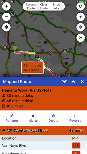 Sigalert Com Live Traffic Reports On The App Store