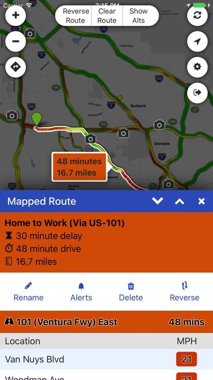 Sigalert.com - Live traffic reports screenshot-4