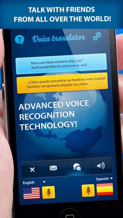 スピーチ翻訳 + 翻訳アプリのスクリーンショット2