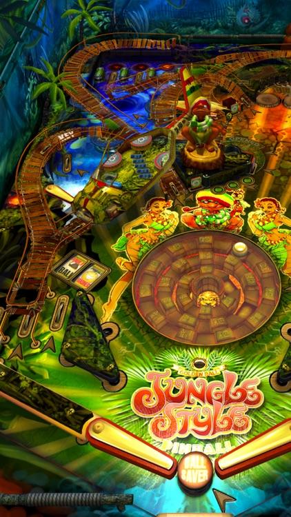 Jungle Style Pinball screenshot-3