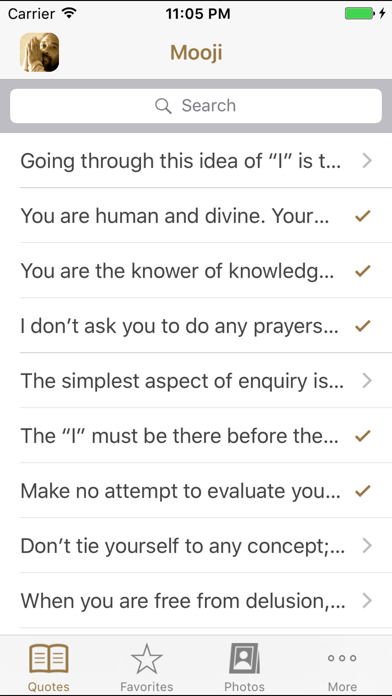 Mooji Quotes review screenshots