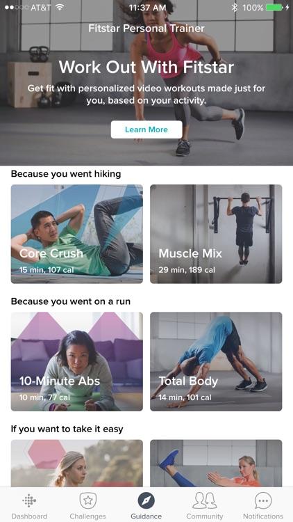 Fitbit app image