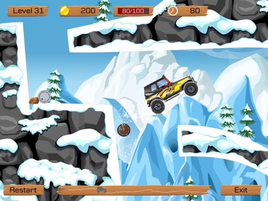 Snow Off Road Free screenshot 4