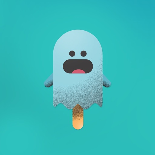 Popsicle ghost